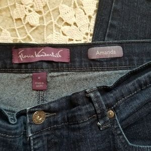 Gloria Vanderbilt Plus Sz 18 Amanda Jeans